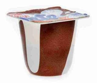 Десерт молокосодержащий Zott Monte шоколад/лесной орех 13,3% 100г
