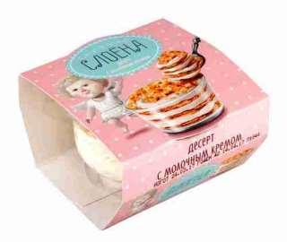 Десерт Слоена с молочным кремом 14,5% 85г