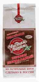 Мороженое пломбир Чистая линия Семейное шоколадный 450г