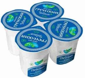 Йогурт греческий Лактика 4% 120г