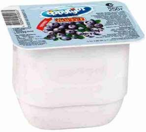 Йогурт Фругурт черника молочный 2,5% 250г