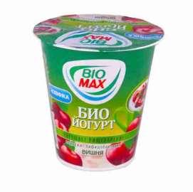 Йогурт вязкий Bio-Max вишня 2,6% 290г
