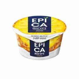 Йогурт Epica 130г с ананасом 4,8%