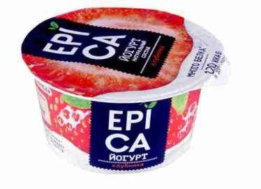 Йогурт Epica 130г с клубникой 4,8%