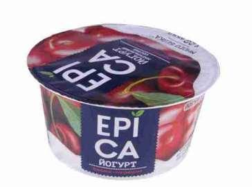 Йогурт Epica 130г с вишней и черешней 4,8%