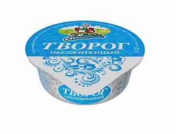 Творог Кубанский Молочник 0% 220г ст