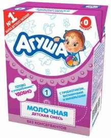 Смесь молочная стерил Агуша-1 с 0 до 6мес 3,4% 200мл