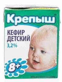 Кефир Крепыш 3 2% 0 2кг т/п