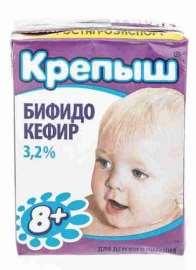 Бифидокефир Крепыш 3,2% 0,2кг т/п