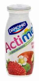 Продукт к/мол Danone Actimel земляника/шиповник 2,5% 100г
