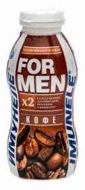 Напиток к/мол Neo Имунеле For Men со вкусом кофе 1,2% 200г