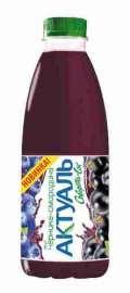 Напиток на сыворотке Актуаль черника/смородина  0% 930г пэт