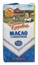Масло Домик в деревне Крестьянское 72,5% 180г фольга