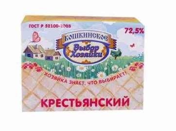 Спред Крестьянский Выбор хозяйки 72,5% 180г фольга