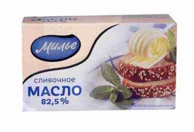 Масло сливочное Милье 82,5% 400г