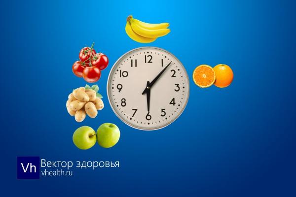 В какое время лучше есть различные фрукты и овощи?